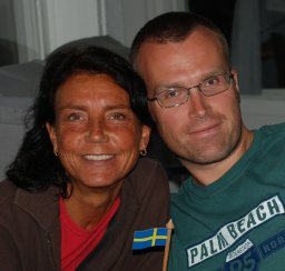 Ingmarie Nilsson and Anders Gustafson (Njurunda, Sweden), August 10 2008