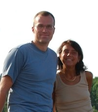 Anders Gustafson and Ingmarie Nilsson, August 2008