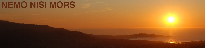 Sunset from Jacks Peak, Monterey (California, United States), December 2011 [Photo: Anders Gustafson]