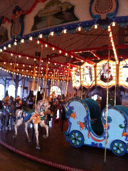 "The Carousel-""Merry-go-round"""