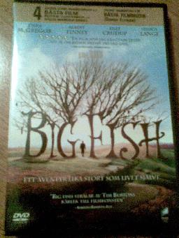 "DVD filmen ""Big Fish"""